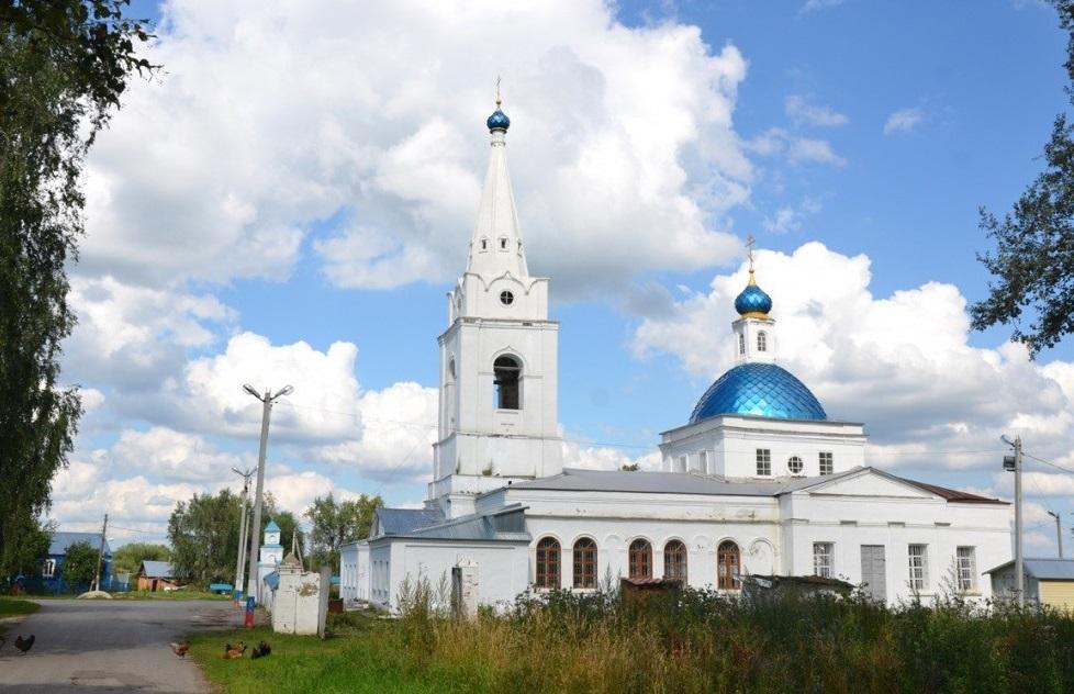 Казанский храм с. Долгомостьево