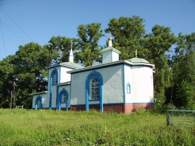 Иоанно-Богословский храм Матыра