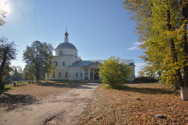 Преображенский храм Белоомут 1