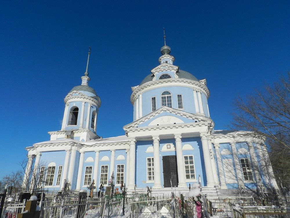 Успенский храм Белоомут