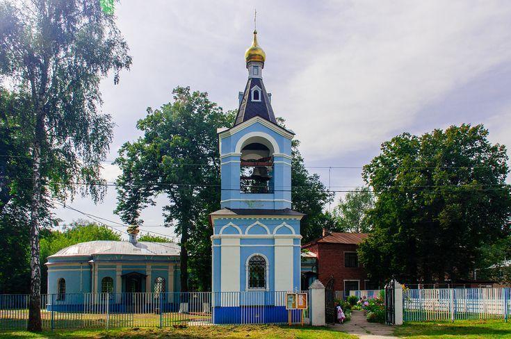 Казанский храм села Алпатьево