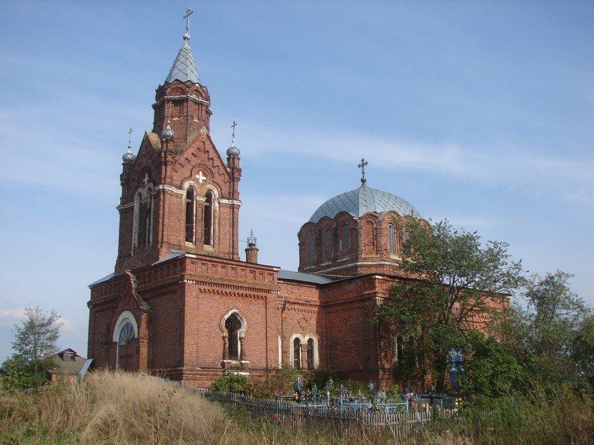 Успенский храм Ловецкие Борки 1