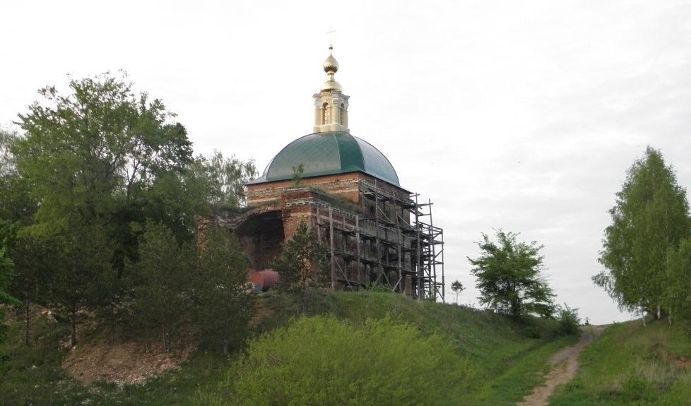 Троицкий храм Троицкие Борки 1