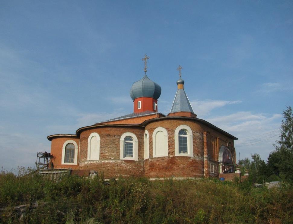 Параскевинский храм Горетово 1