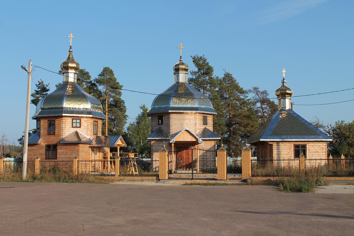 Храм блж. Матроны Московской Белоомут