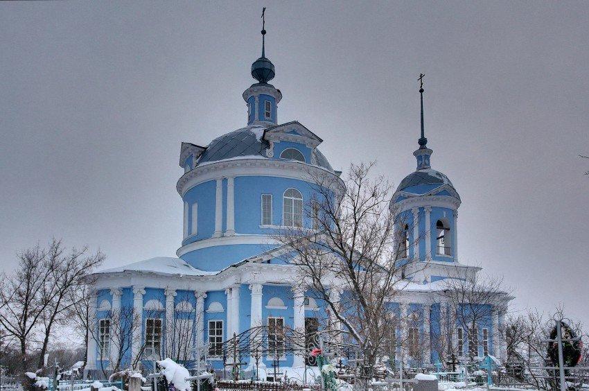Успенский храм Белоомут 1