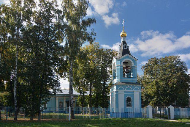 Казанский храм села Алпатьево 1
