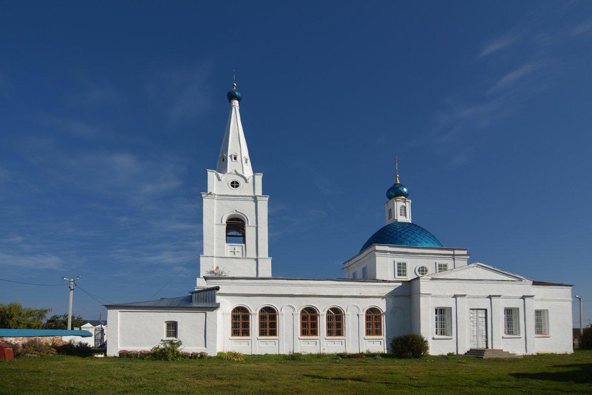 Казанский храм Долгомостьево
