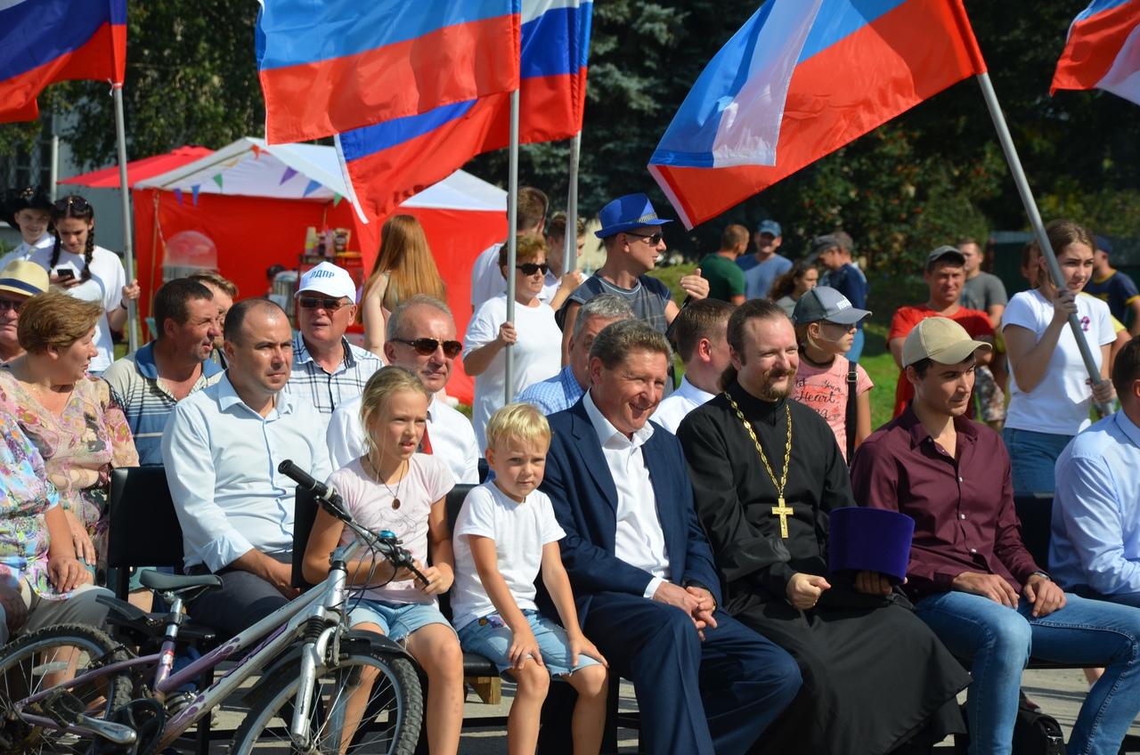 День Государственного флага в с. Дединово
