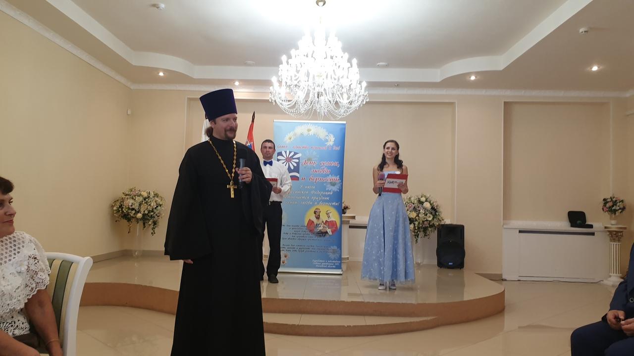 День семьи, любви и верности в Луховицком благочинии