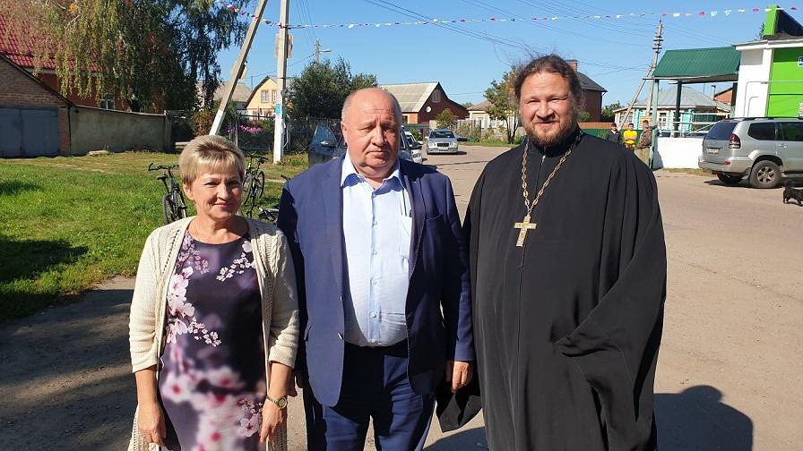 Поздравление жителей села Курово