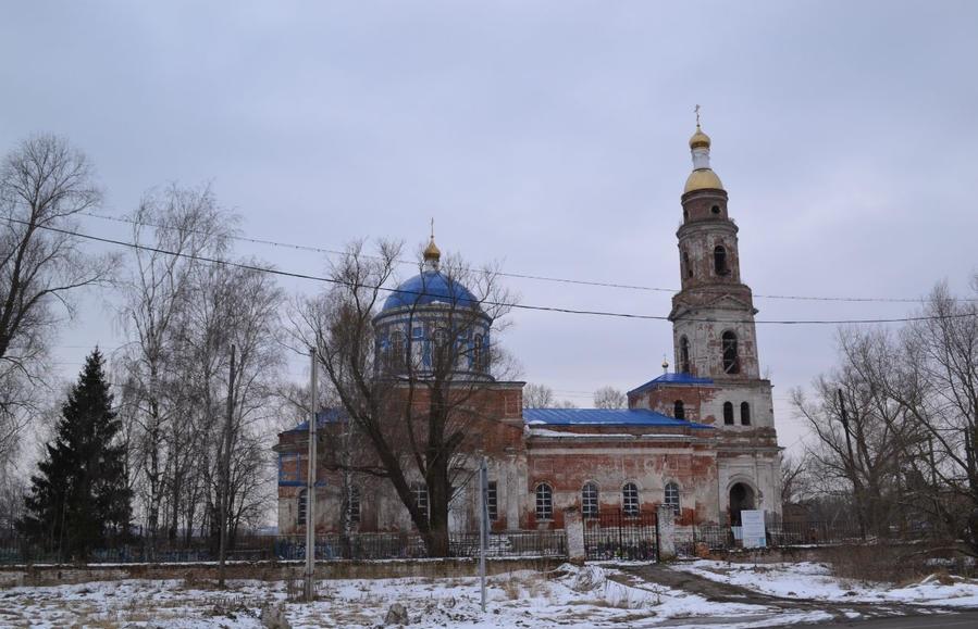 Храм иконы Божией Матери Казанская с. Дединово
