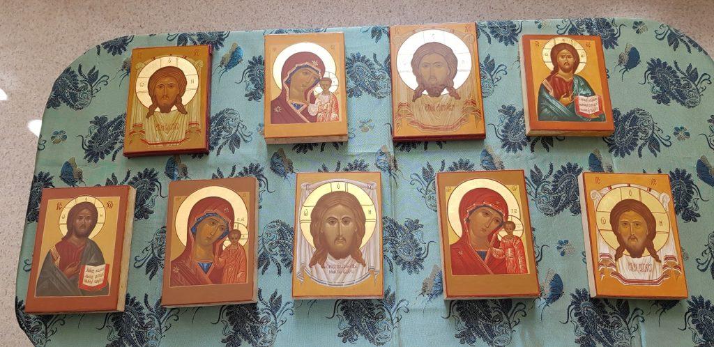 освящение икон в студии штрих 1