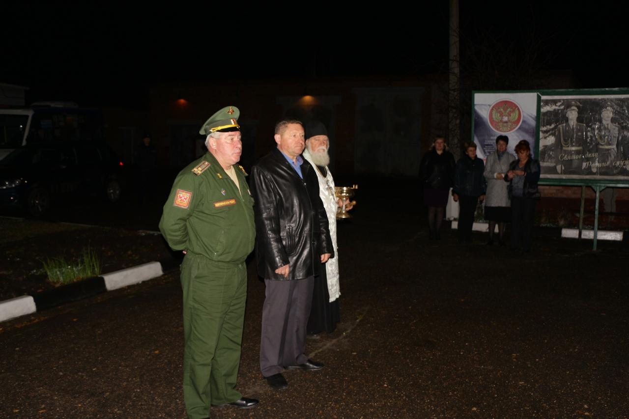 Осенний призыв в армию в Луховицах