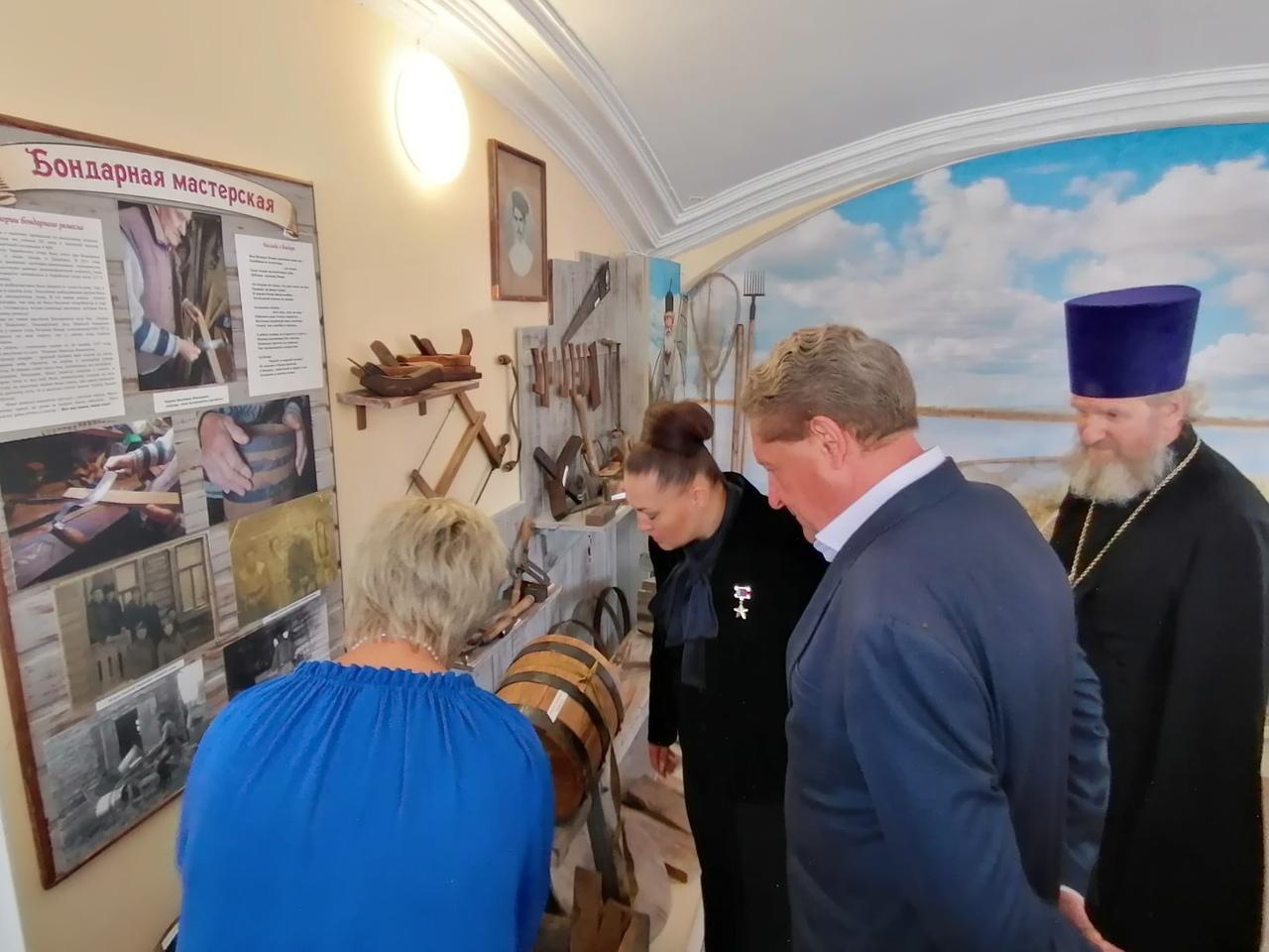 Открытие музея «Рыбацкая слобода» в с. Ловцы