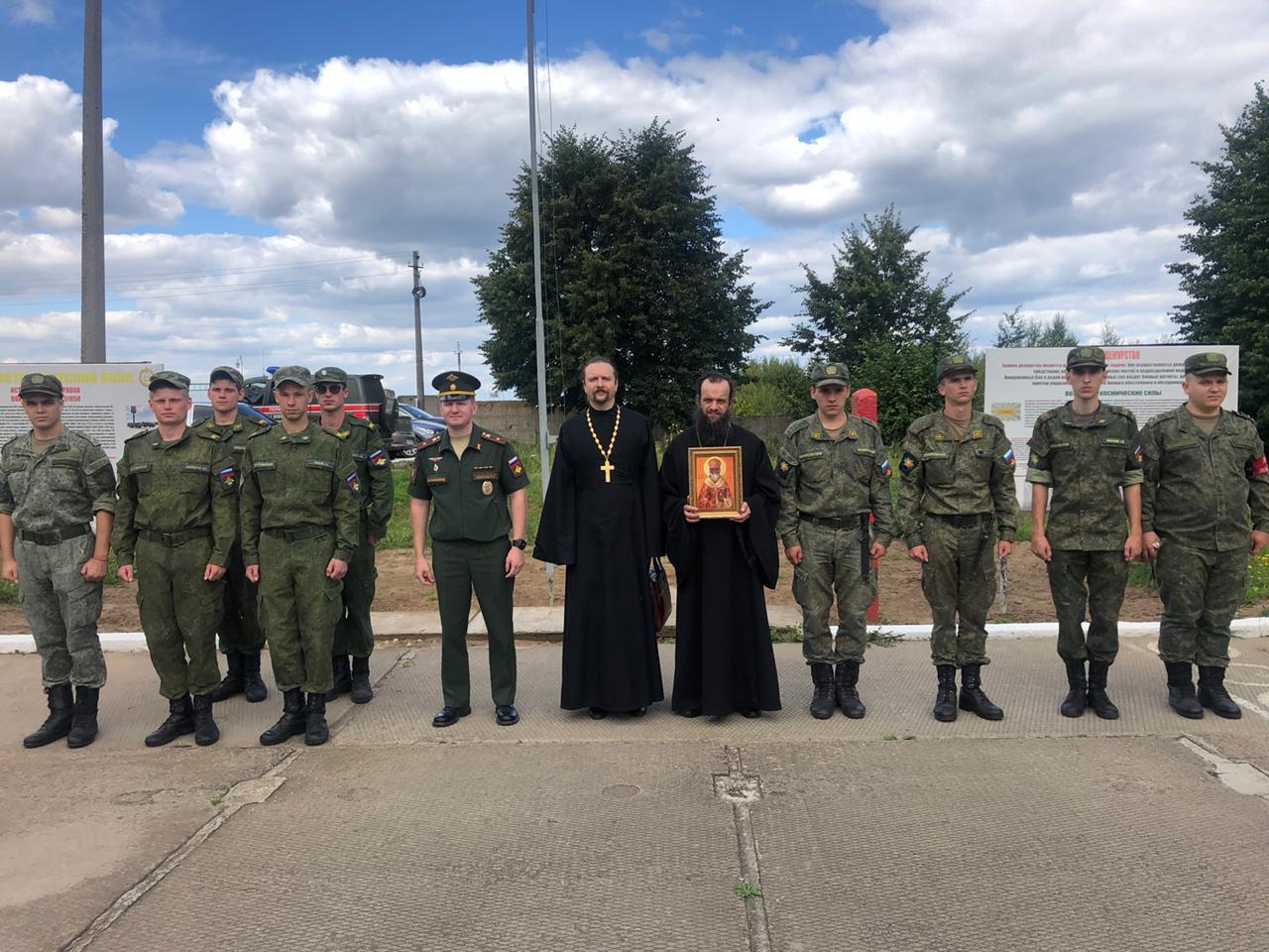 Лекции в воинских частях Луховицкого благочиния