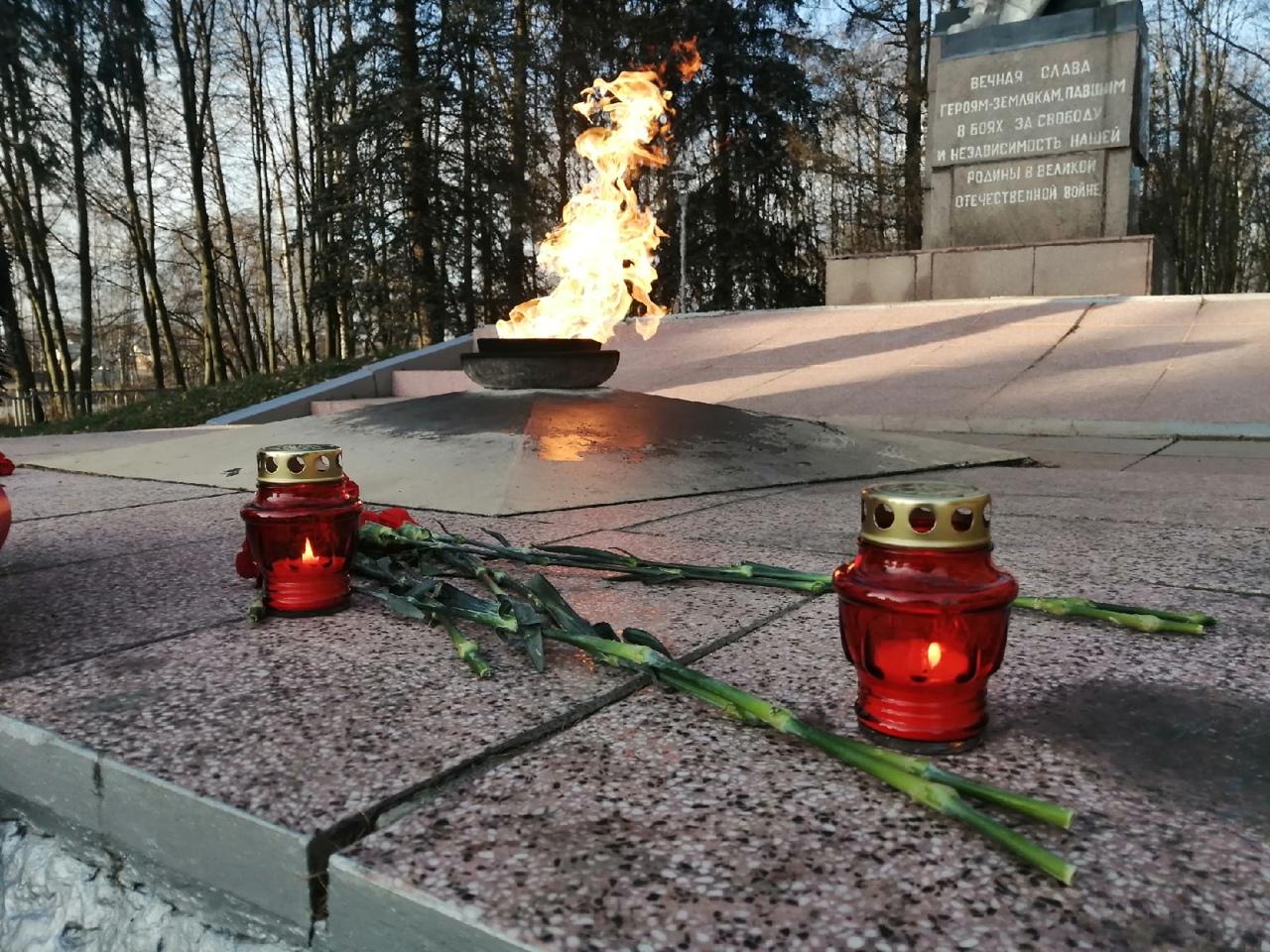 День неизвестного солдата в Луховицах