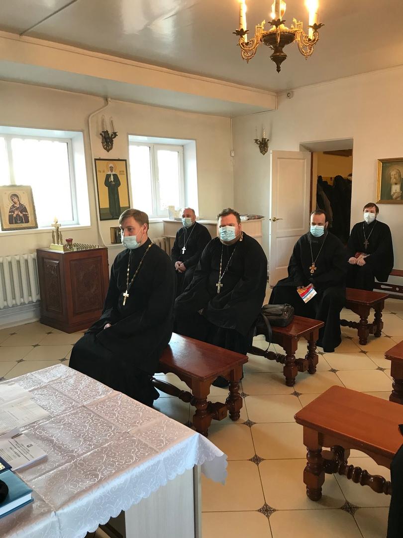 Первый этап епархиального собрания в Луховицком благочинии