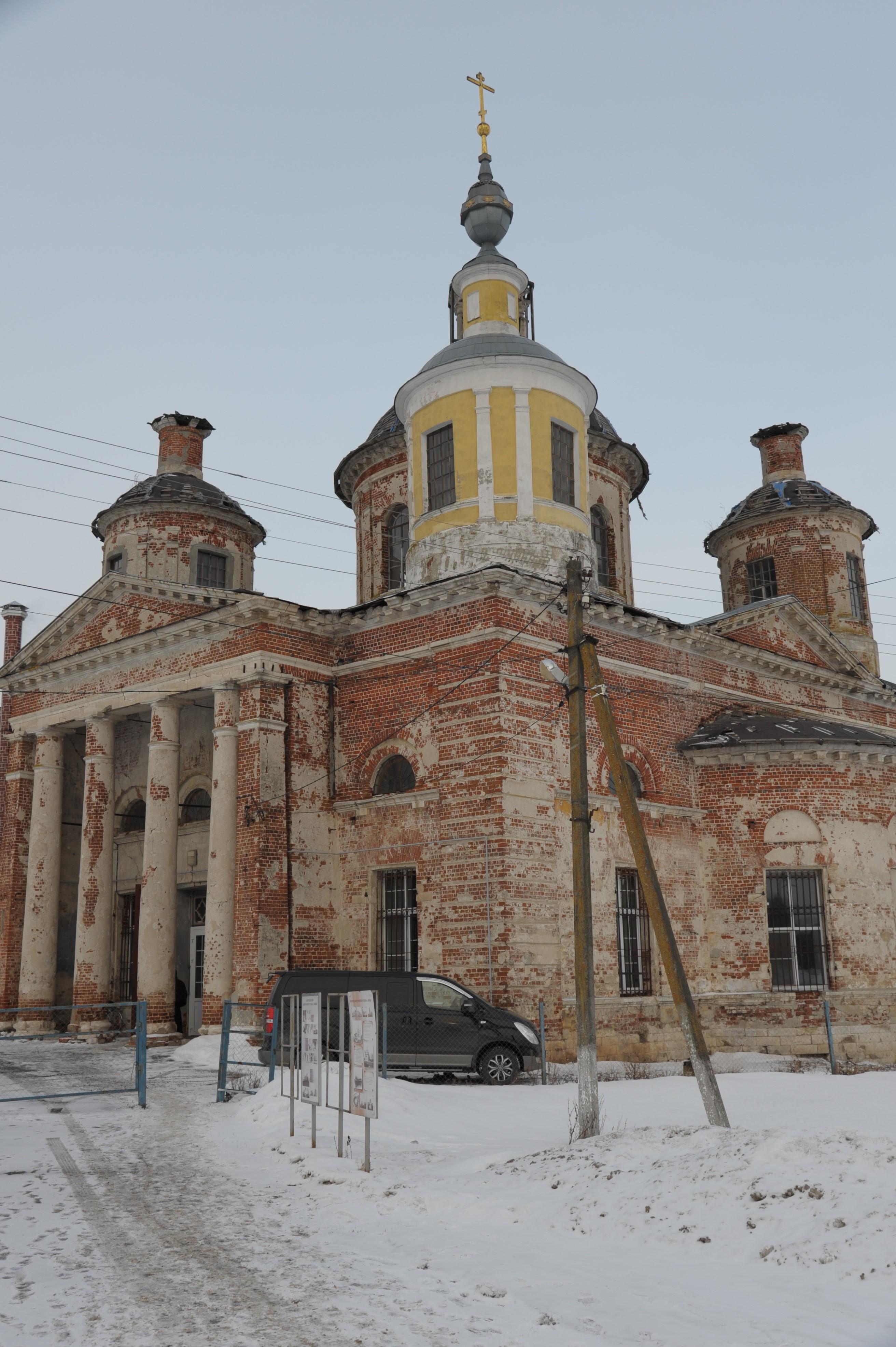 30-летие возрождения приходской жизни Воскресенского храма села Ловцы