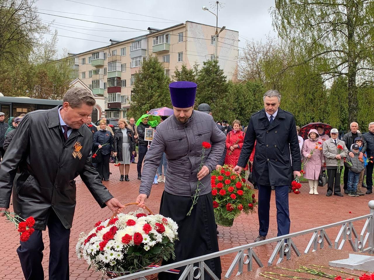 День Победы в Луховицком благочинии